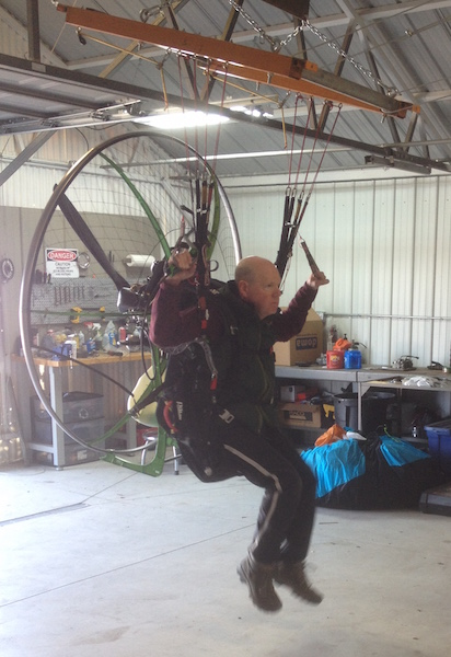 Paramotor Training with Midwest Parajet located in Minooka, IL